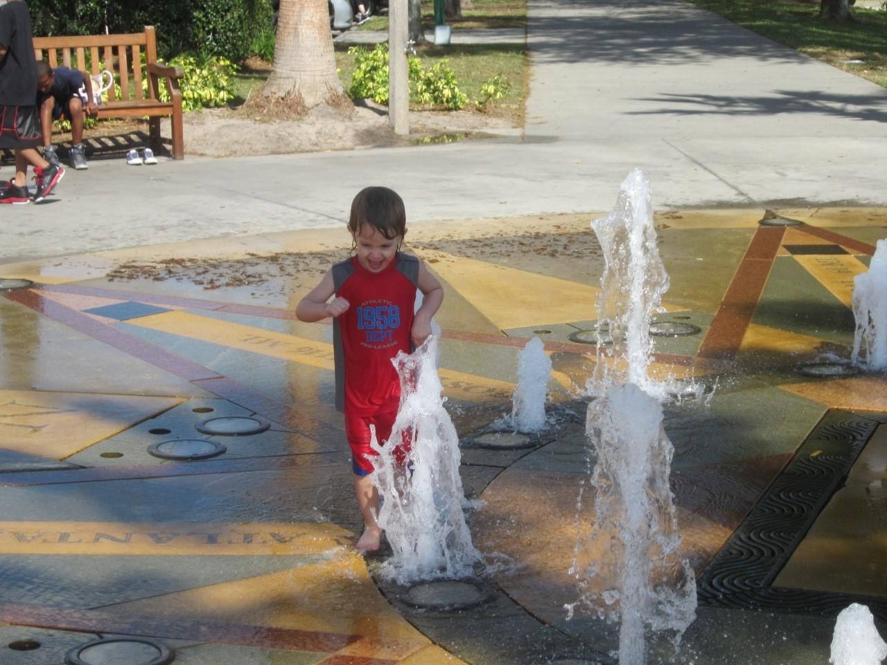 kids activities Celebration splash park