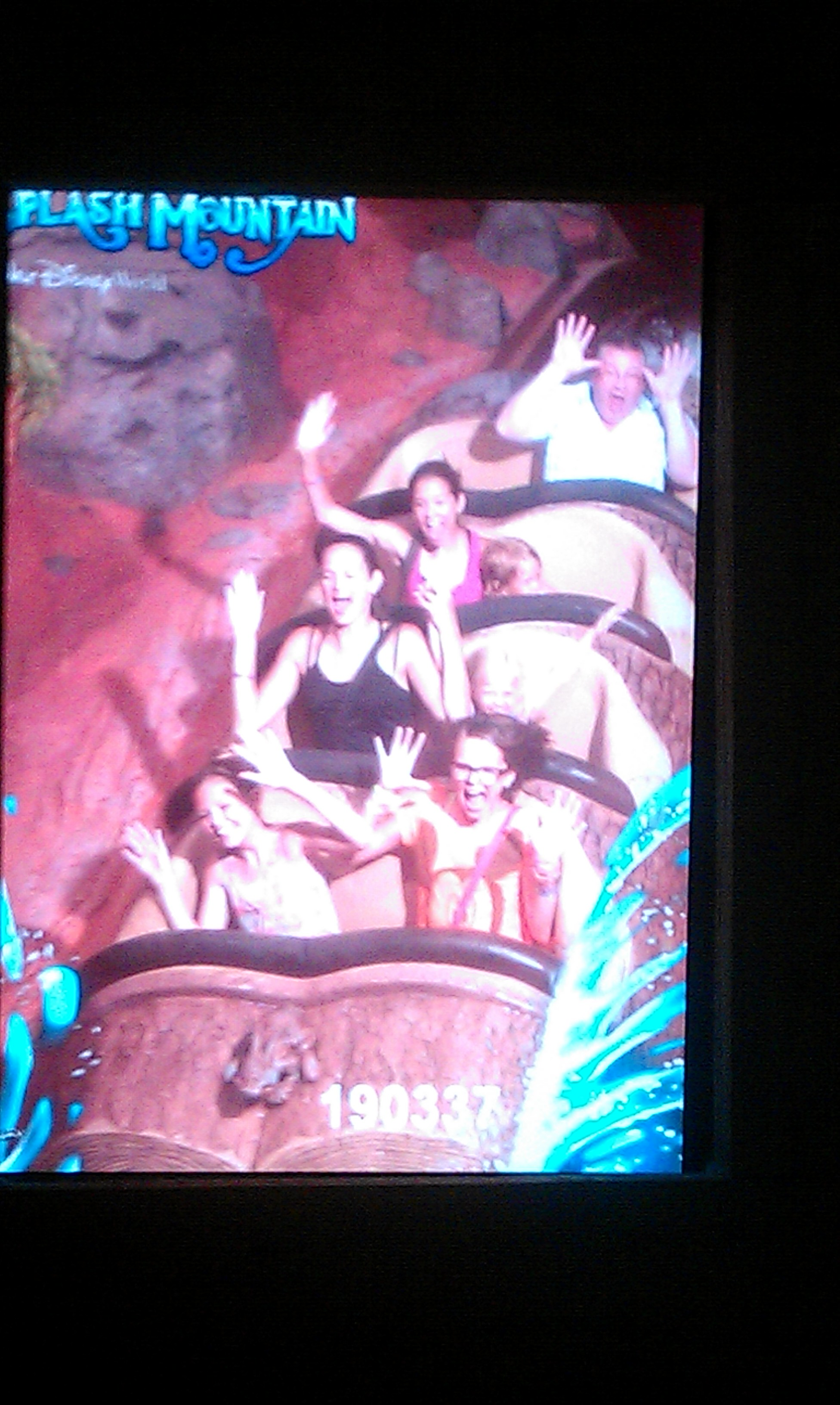 Splash Mountain at Disney World Florida