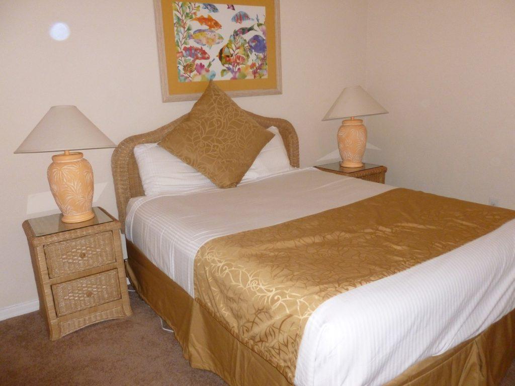 Condo bedroom 2 in Bahama Bay Resort Orlando Florida