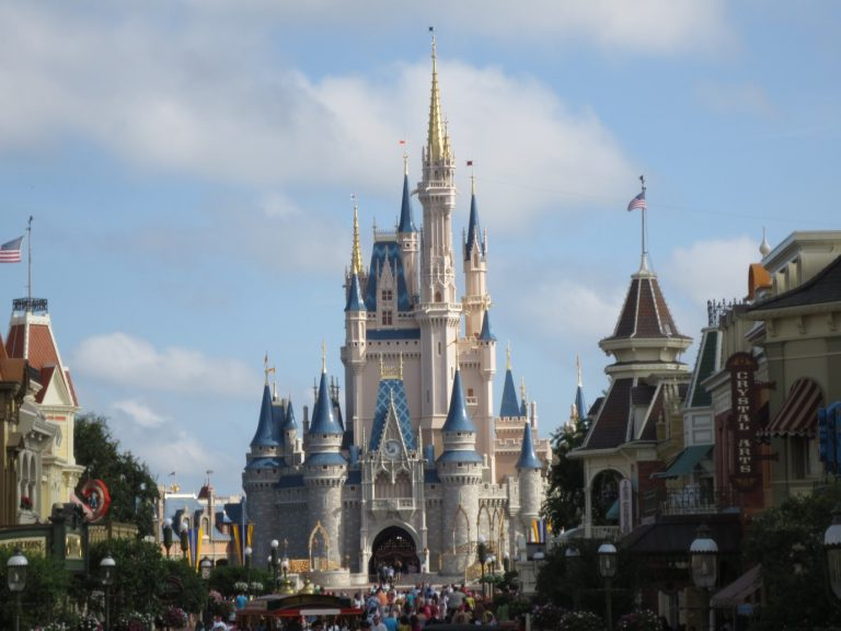 The Castle at Magic Kingdom, Disney World, Orlando, Florida