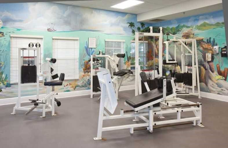 Gym at Bahama Bay Resort Orlando Florida