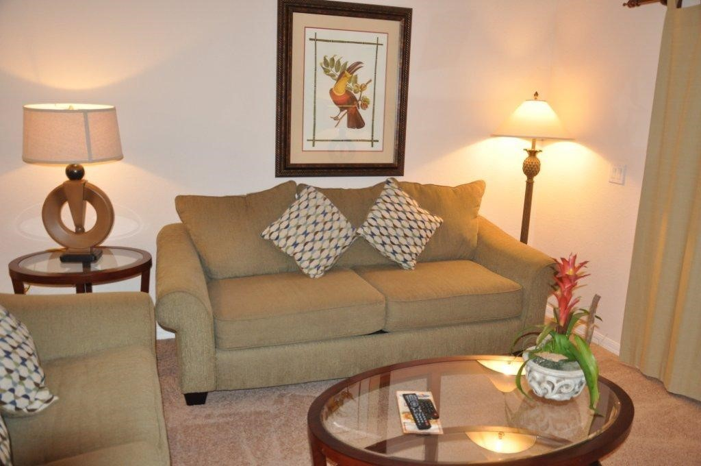 Condo lounge at Bahama Bay Resort Orlando Florida