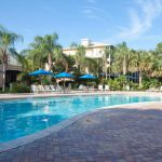 Swimming pool by Tradewinds restaurant at Bahama Bay Resort & Spa Orlando Florida