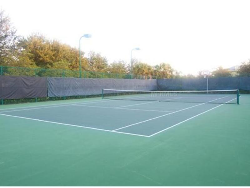 Tennis and Basketball court at Bahama Bay Resort & Spa, Orlando Florida