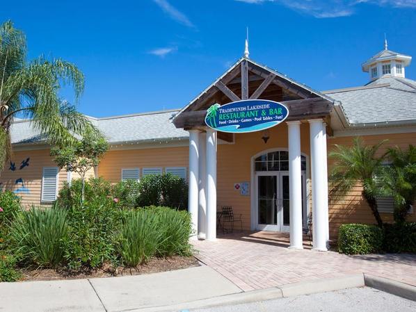 Tradewinds restaurant at Bahama Bay Resort Orlando Florida