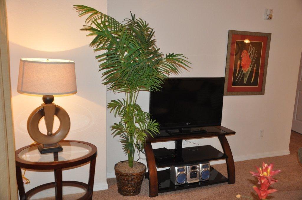 TV in Condo lounge Bahama Bay Resort Orlando Florida