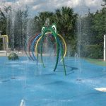 Kiddy splash pad at Bahama Bay Resort & Spa Orlando Florida