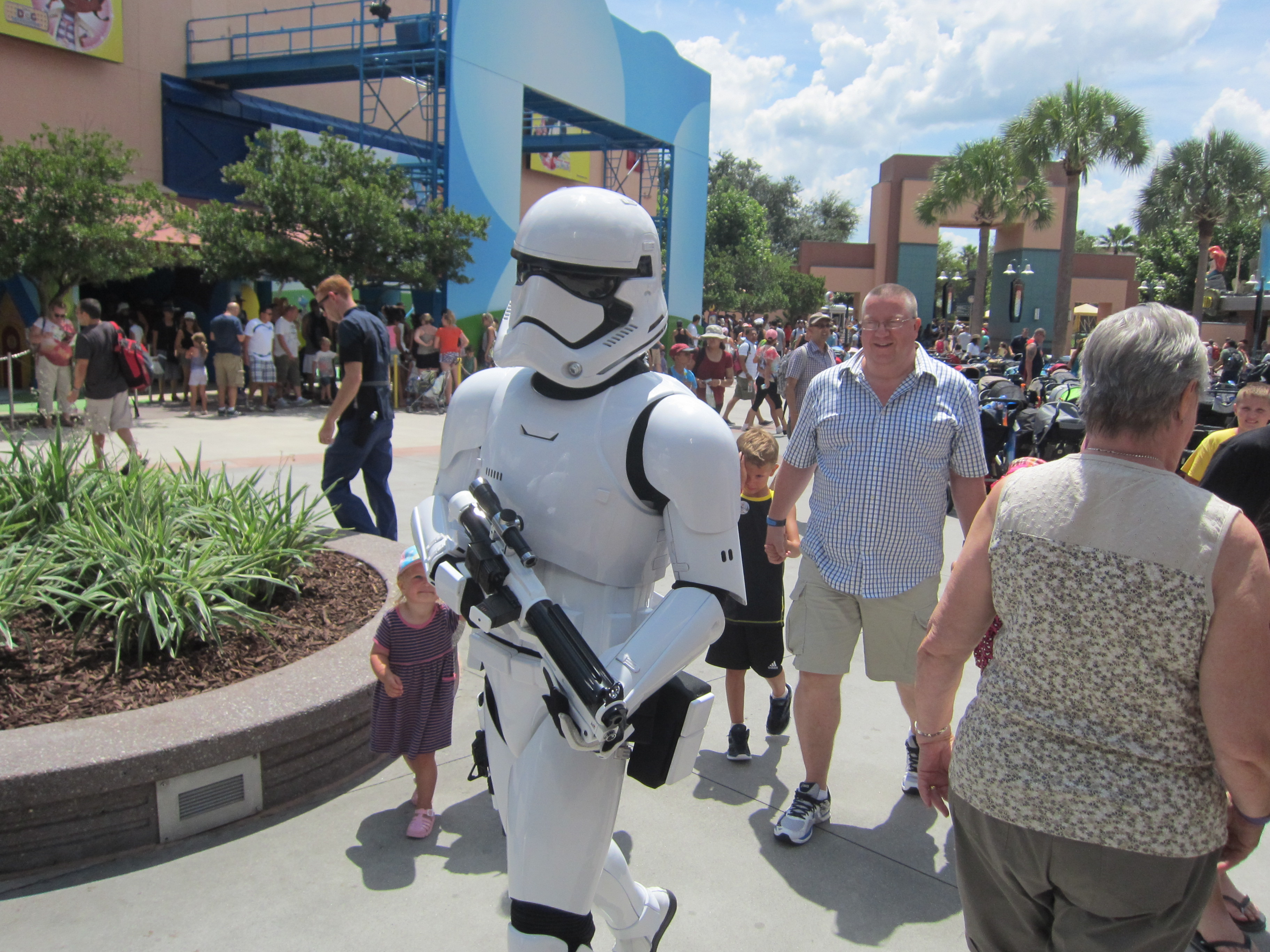 Storm Trooper Disney Hollywood Studios