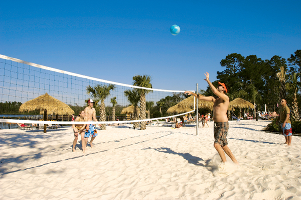 Beach Volleyball at Bahama Bay Resort Orlando Florida