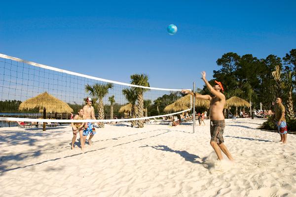 Beach Volleyball at Bahama Bay Resort Orlando Florida